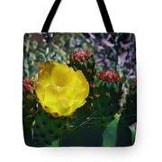 Cactus Blossom 8 Tote Bag