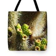 Cactus Buds Tote Bag