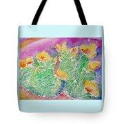 Cactus Color Tote Bag