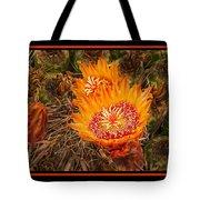 Cactus Flower 3 Tote Bag
