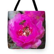 Cactus Flower Buzz Tote Bag