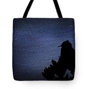 Cactus Wren In The Night Tote Bag