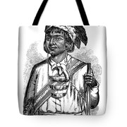 Caddo Chief, 1879 Tote Bag
