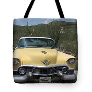 Caddy In The Desert Tote Bag