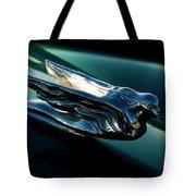 Cadillac Hood Angel Tote Bag