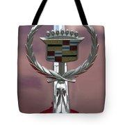 Cadillac Hood Ornament Tote Bag