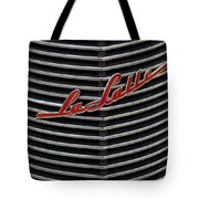 Cadillac Lasalle Hood Emblem Tote Bag