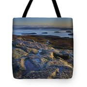 Cadillac Mountain And Frenchman's Bay Tote Bag