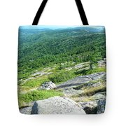 Cadillac Mountain Rocky View Tote Bag