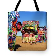 Cadillac Ranch 2  Tote Bag