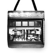 Cadillac Storefront, 1927 Tote Bag