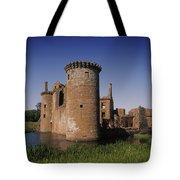 Caerlaverock Castle, Dumfries, Scotland Tote Bag
