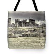 Caerphilly Castle Cream Tote Bag