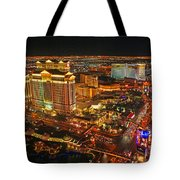 Caesars Palace On The Strip Tote Bag