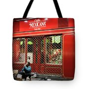 Cafe De Mexicana Panhandlers Tote Bag