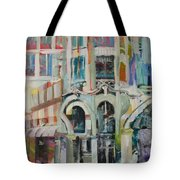 Cafe In Paris Tote Bag