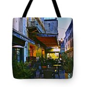 Cafe Terrace On The Place Du Forum Tote Bag