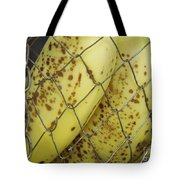 Caged Bananas Tote Bag