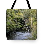 Cahaba River Shadows Tote Bag