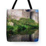 Cahir Castle, River Suir, County Tote Bag