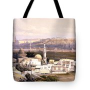 Cairo From The Gate Of Citizenib  Looking Toward The Desert Of Suez Tote Bag