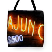 Cajun Casino - Bourbon Street Tote Bag