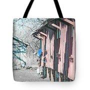 Cajun Country Satellite Dish Tote Bag