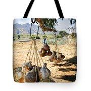 Calabash Gourd Bottles In Mexico Tote Bag by Elena Elisseeva