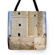 Calahorra Tower In Cordoba Tote Bag