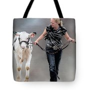 Calf Competition Tote Bag
