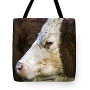 Calf Portrait Tote Bag