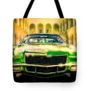 California 1970 Camaro Tote Bag