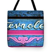 California Chevy Chic Tote Bag