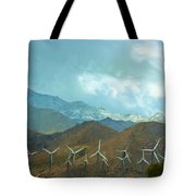 California Desert In Winter Tote Bag