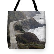 California Highway 1 Or Pacific Coast Tote Bag