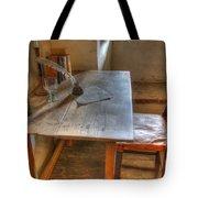 California Mission La Purisima Desk Tote Bag