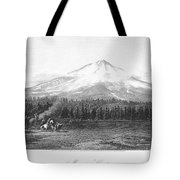 California: Mount Shasta Tote Bag