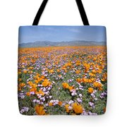 California Poppies And Other Tote Bag