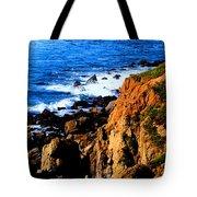 California Waterfront Tote Bag