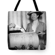 California: Woman Voting Tote Bag