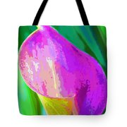 Calla Lily Art  Tote Bag