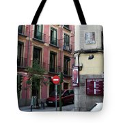 Calle De Vergara Madrid Tote Bag