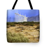 Calm Wind Palm Springs Tote Bag