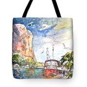 Calpe Harbour 04 Tote Bag