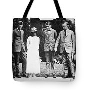 Calvin Coolidge & Family Tote Bag