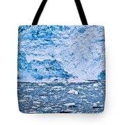 Calving Glacier Tote Bag