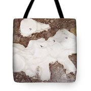 Camarasaurus Vertebrae Covered Tote Bag