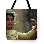 Cambodian Dancer Tote Bag