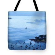 Camden Harbor Tote Bag