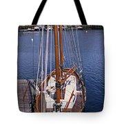 Camden Tall Ship Tote Bag